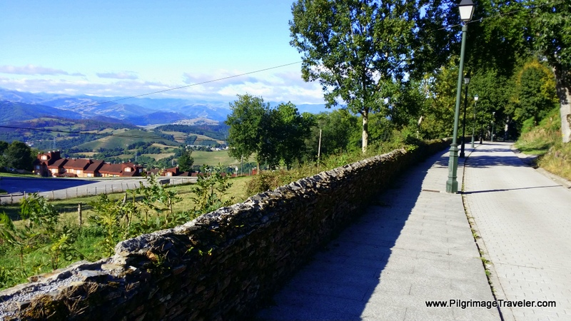 Down the Camino San Roque Into Tineo, on the Original Way