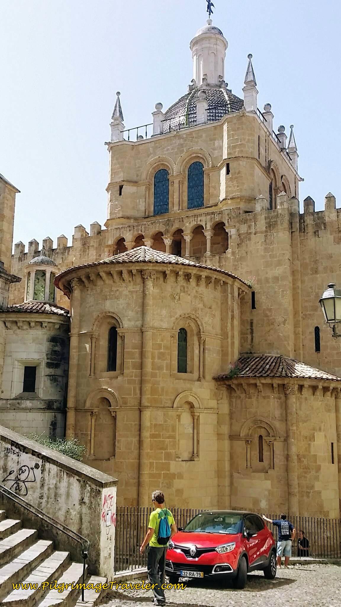 Sé Velha Coimbra, Eastern Façade
