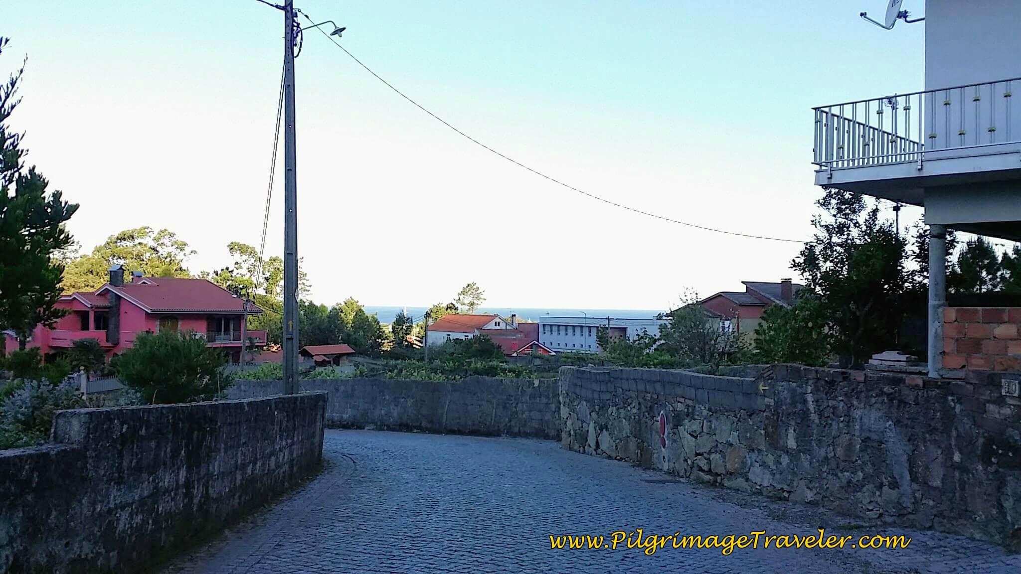 Along the Estrada Real on day seventeen of the Camino Portugués