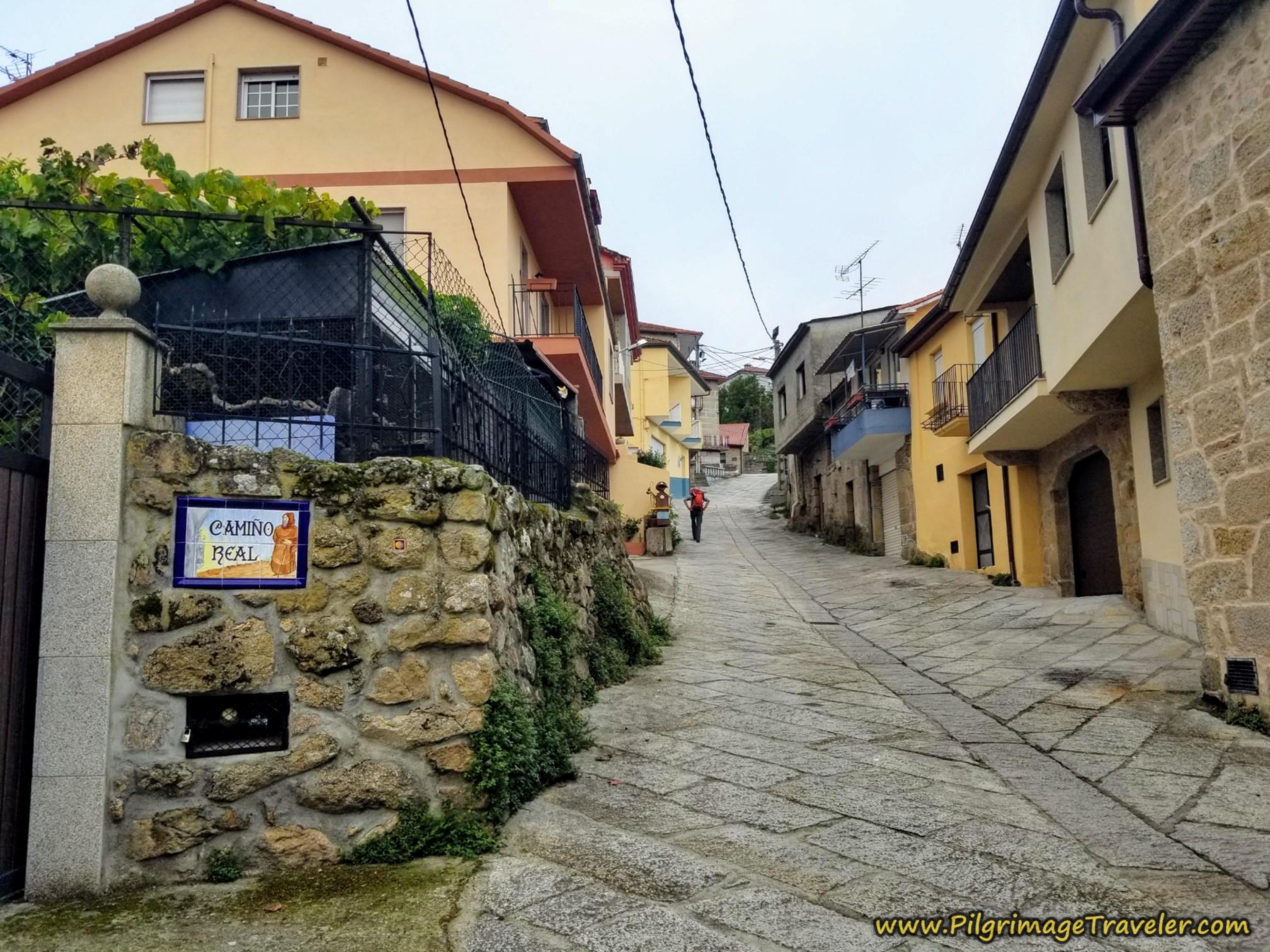 Camiño Real Cudeiro Sur, Camino Sanabrés, Ourense to Cea