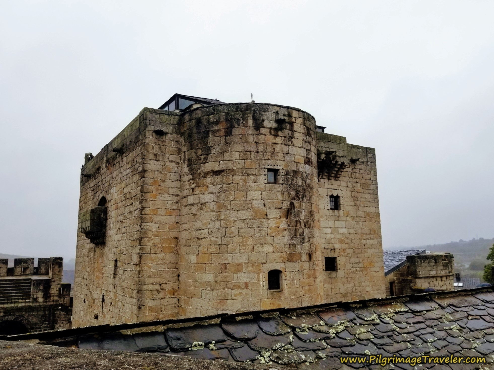 The Castle Keep from the Outer Rooftop, Puebla de Sanabria