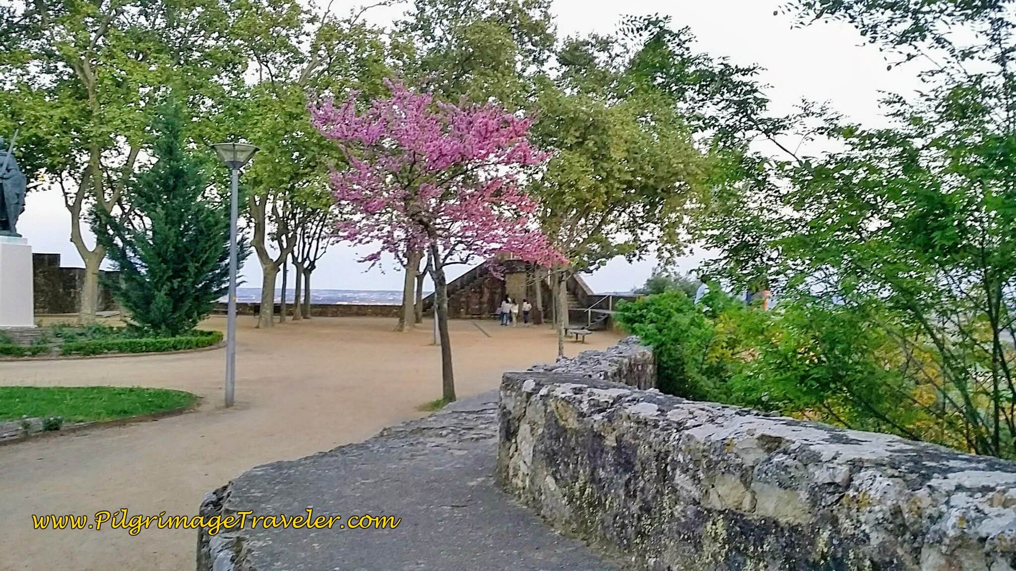 Jardím Portas do Sol, Santarém, Portugal