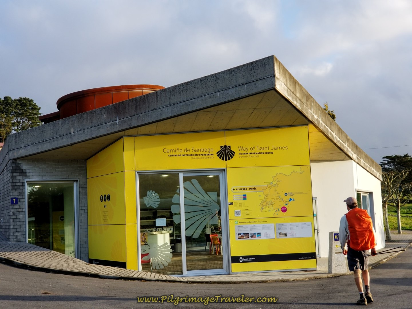 Tourist Information Center in Hospital
