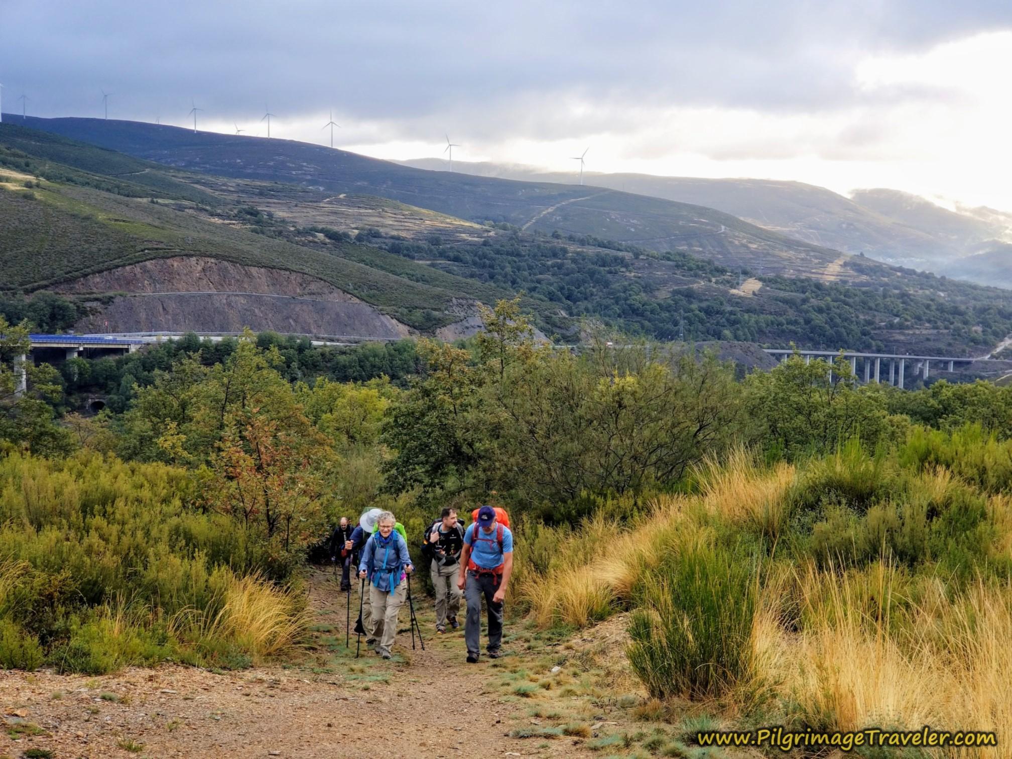 Day Seven ~ Lubián to A Gudiña, 24 Kilometers (14.9 Miles)
