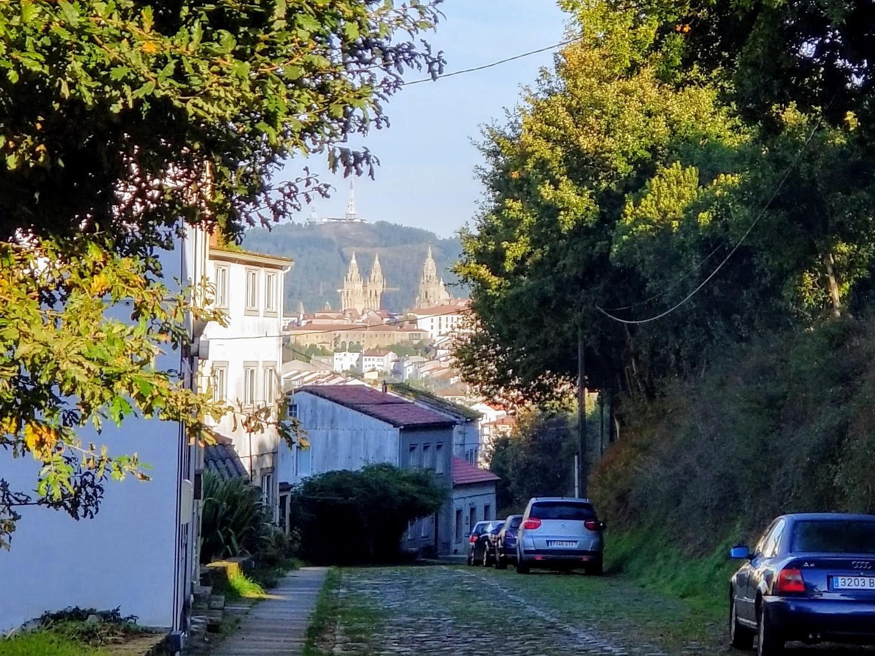 Day Seventeen ~ A Susana to Santiago de Compostela, 10.3 Kilometers (6.4 Miles)