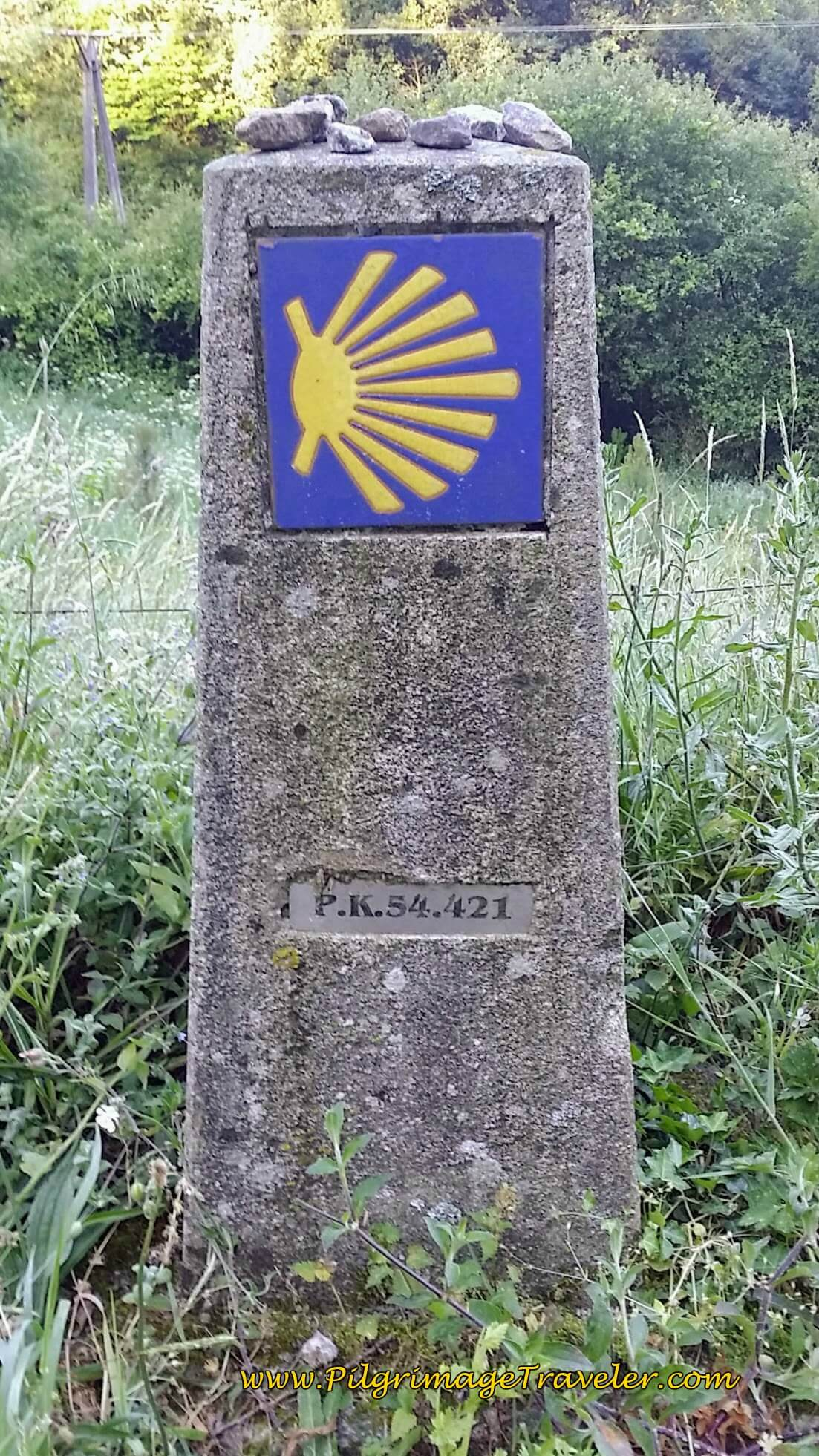 54 Km to Santiago on day twenty-three, Camino Portugués