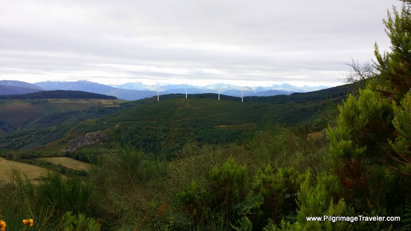 We are Higher Than the WIndmills Seen From Below in Asturias Spain