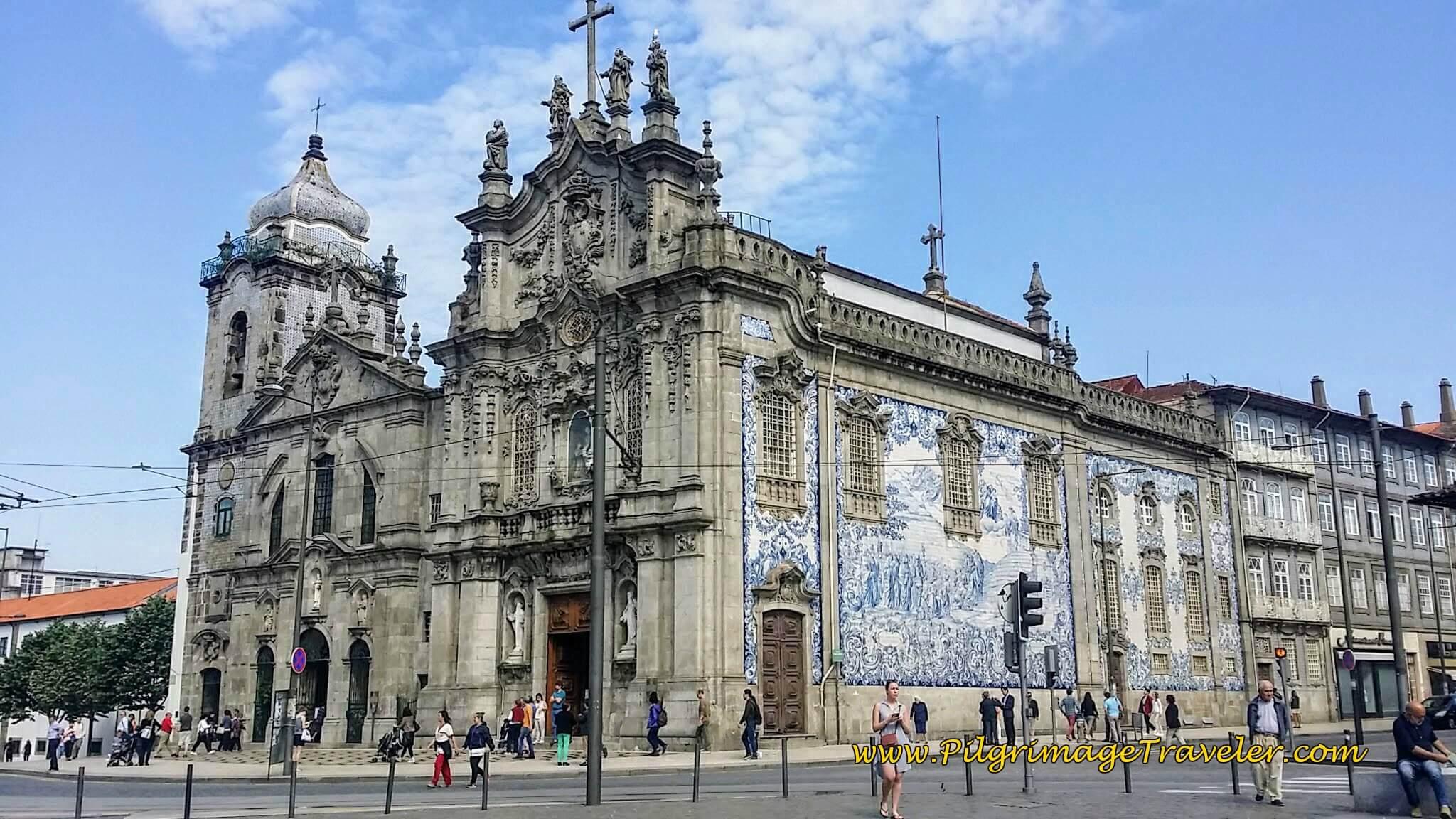 Igreja do Carmo and the Igreja dos Carmelitas in Porto, Portugal