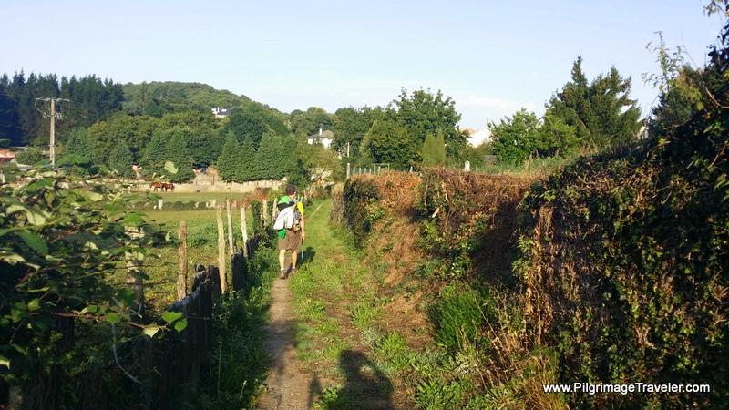 Shortcut Through Castroverde, Galicia, Spain
