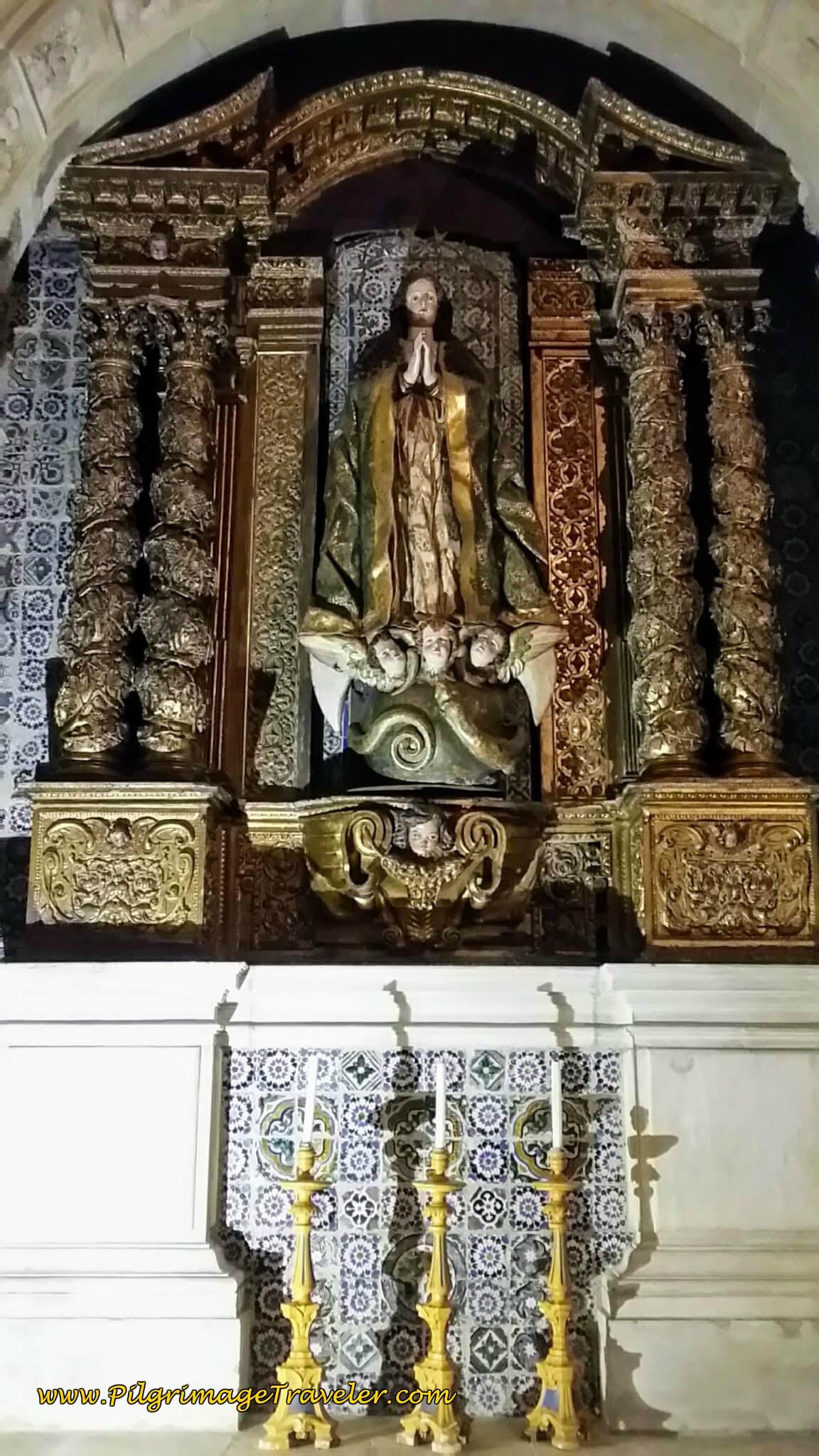 Altar to Fátima, Sé Velha Coimbra, Portugal