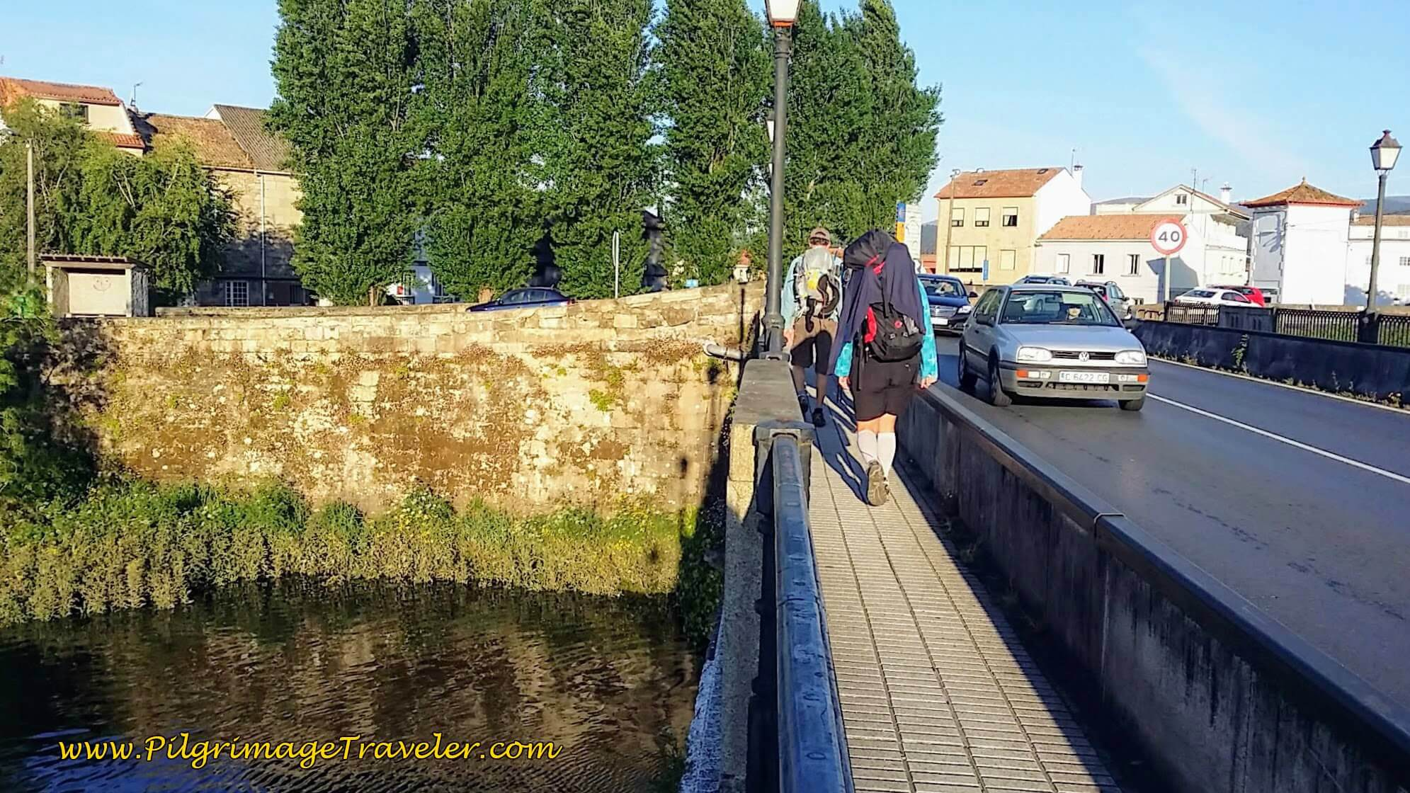 Cross the Río Ulla and Walk into Padrón on Day Twenty-Four, Portuguese Way