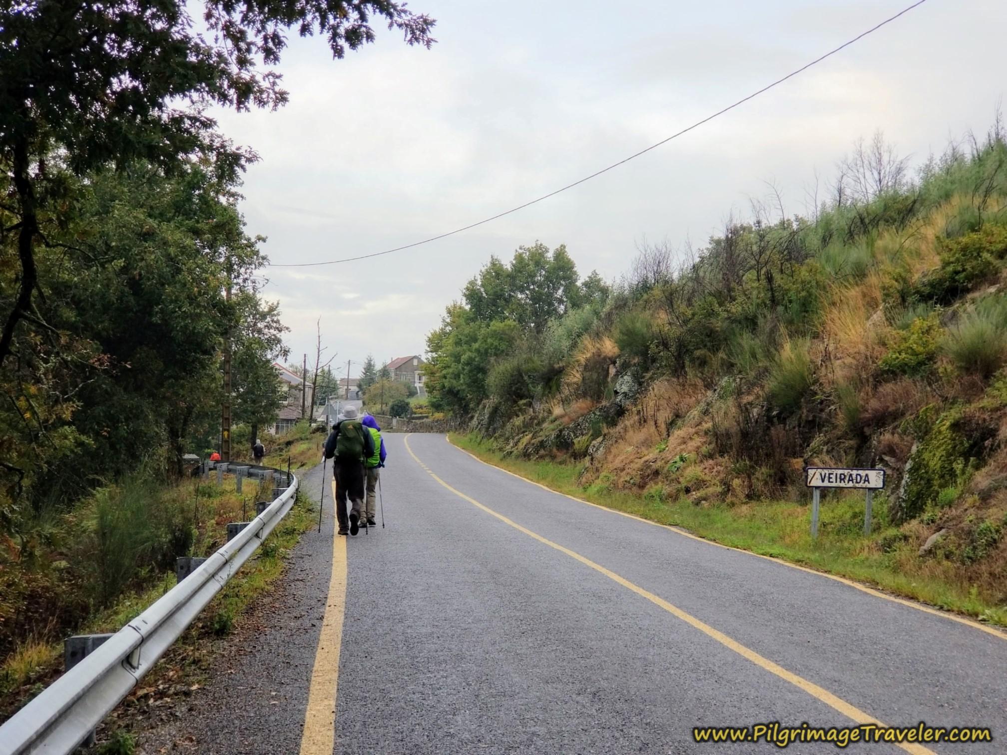 Welcome to Veirada, Camino Sanabrés, Xunqueira de Ambía to Ourense