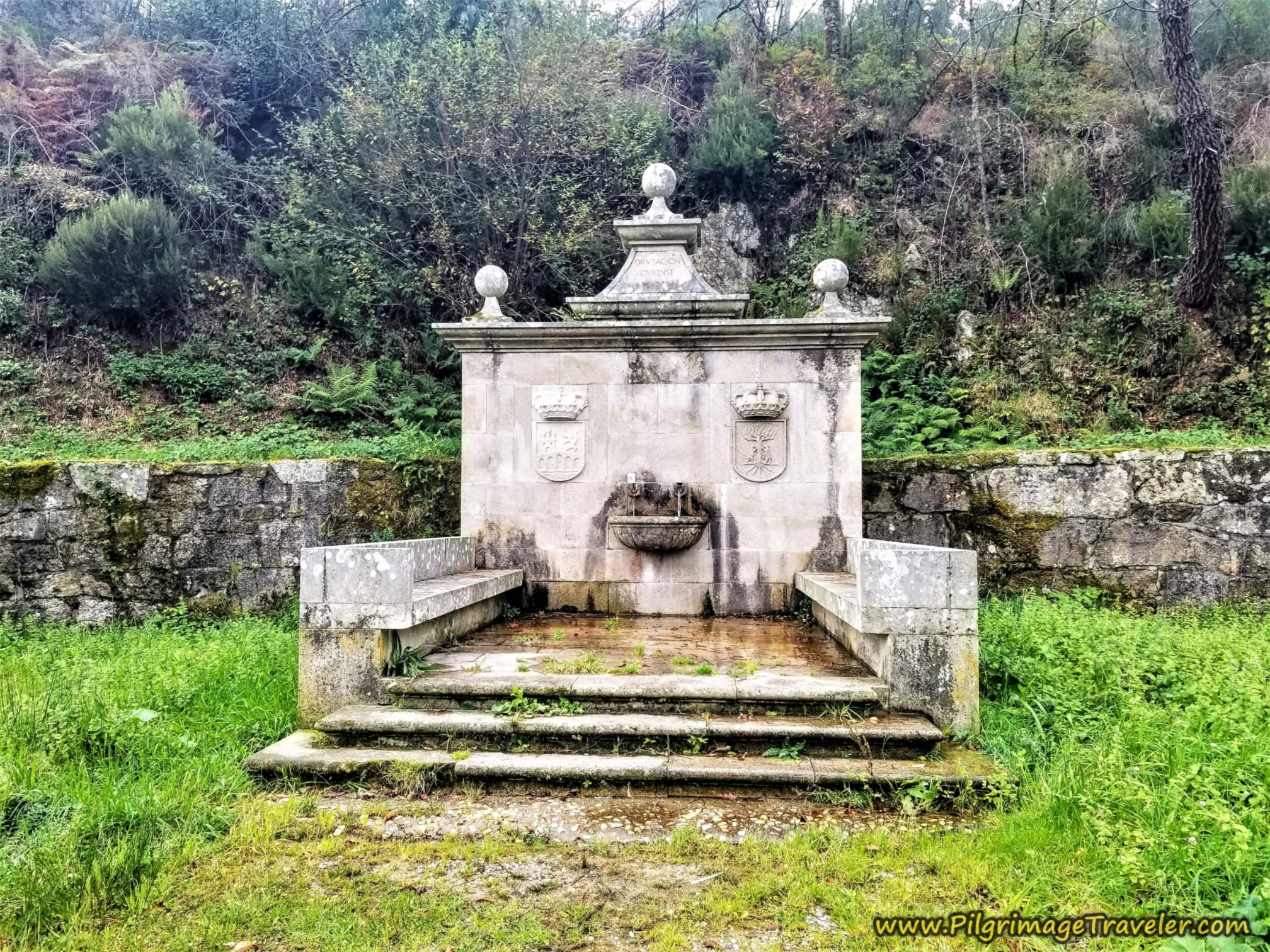 Pass Fountain at 8 Km Marker
