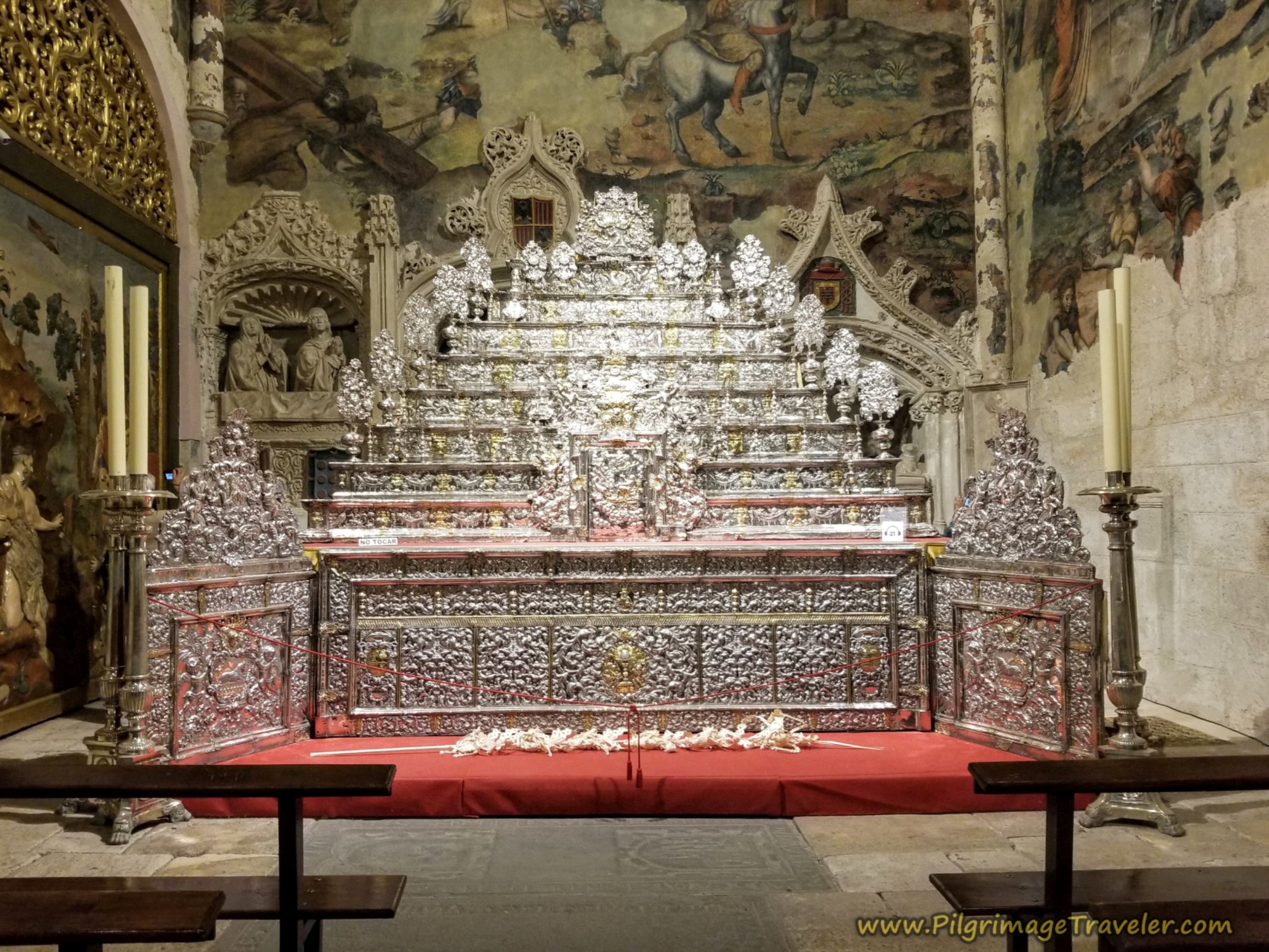 Silver Altarpiece, Chapel of San Ildefonso, Cathedral of Zamora, Spain