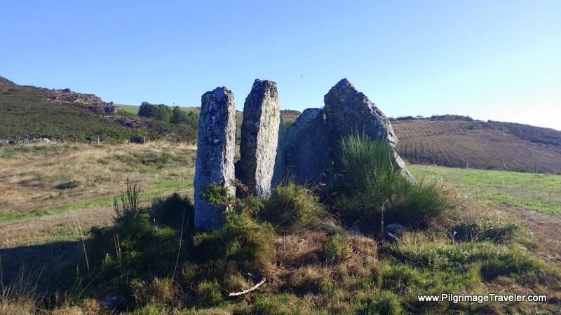 Pedras Dereitas at Hospital de Montouto, Galicia, Spain