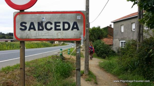 Path by N-547 in Salceda