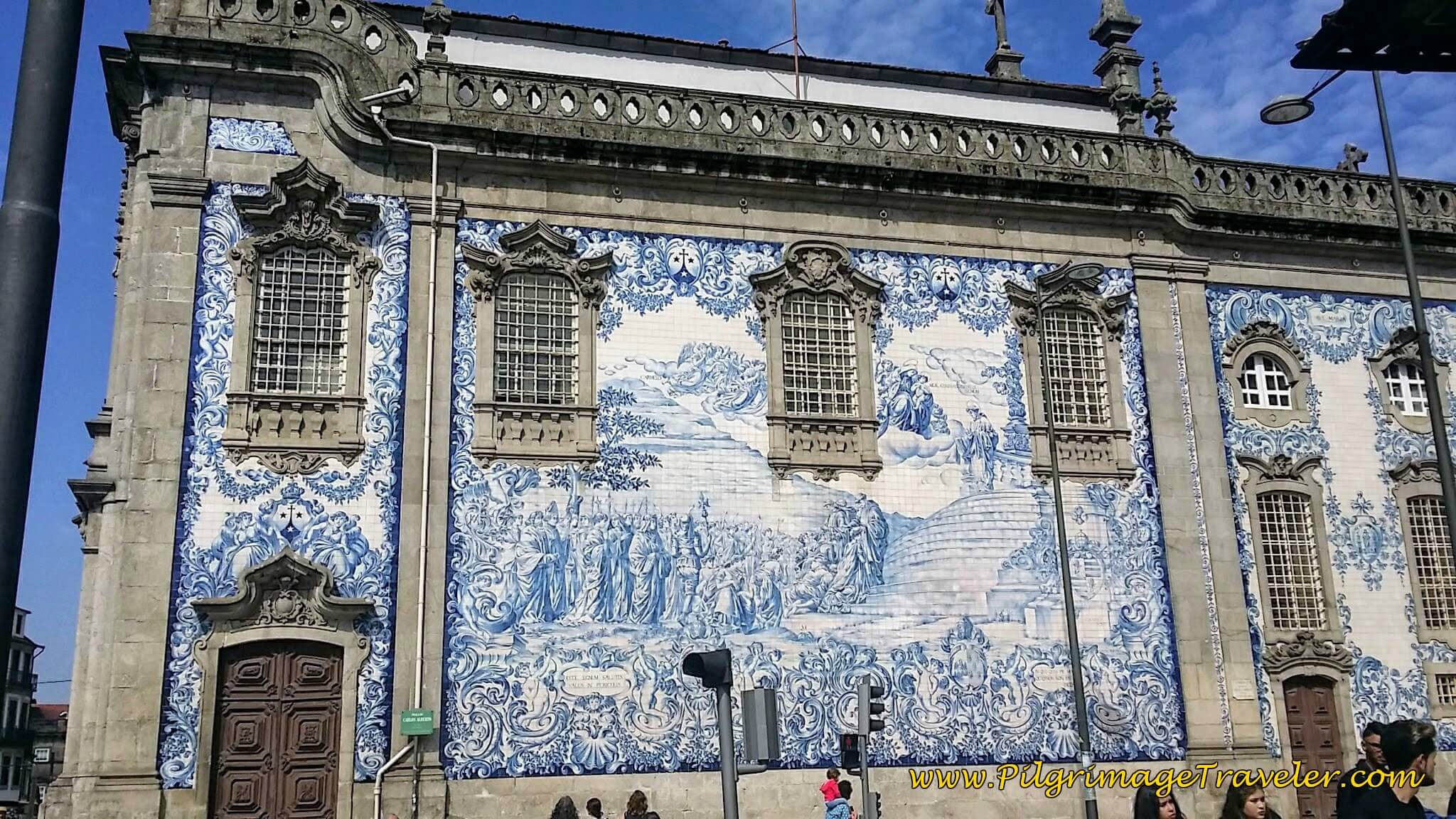 Azulejo Mural of the Igreja do Carmo in Porto, Portugal