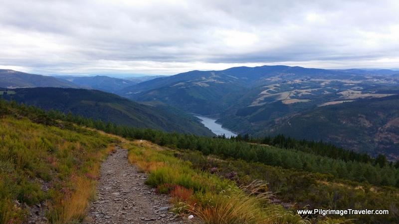 The Steep Descent Towards the Reservoir, Grandas de Salime, Asturias, Spain