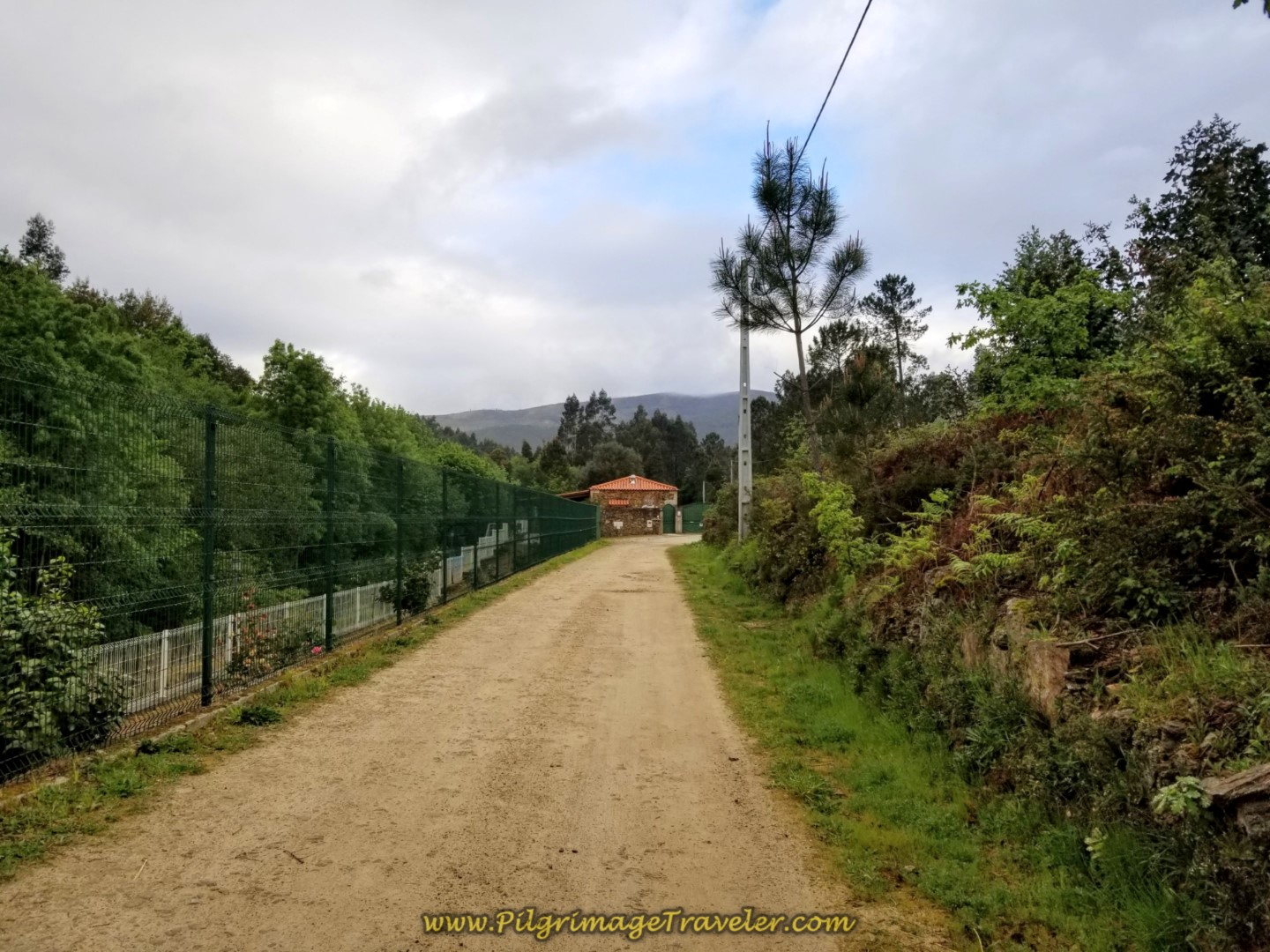 Parque de Pescas Café and Restaurante Ahead on day eighteen on the Central Route of the Portuguese Camino