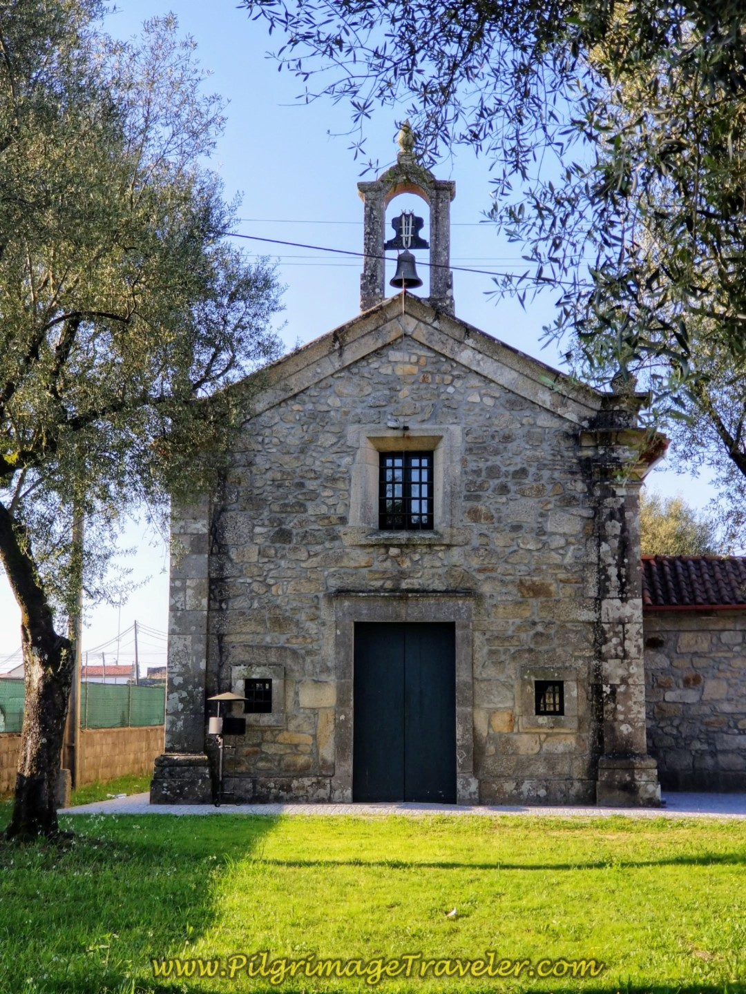 Capela de Santa Cruz in Lijó on day seventeen on the Central Route of the Camino Portugués