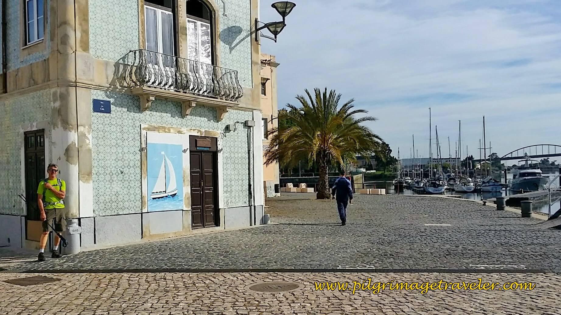 The Docks at Vila Franca de Xira, Portugal