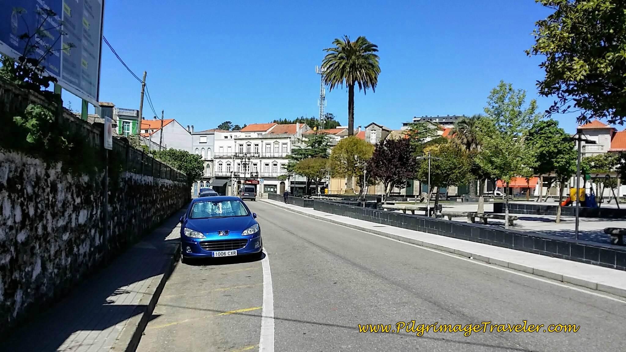 Along the Rúa Rosalía de Castro on Day Nineteen of the Portuguese Way