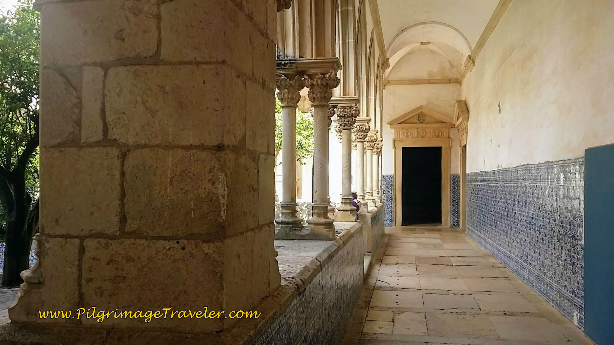 Lower Level of the Main Cloister, Different View, Convent of Christ, Tomar