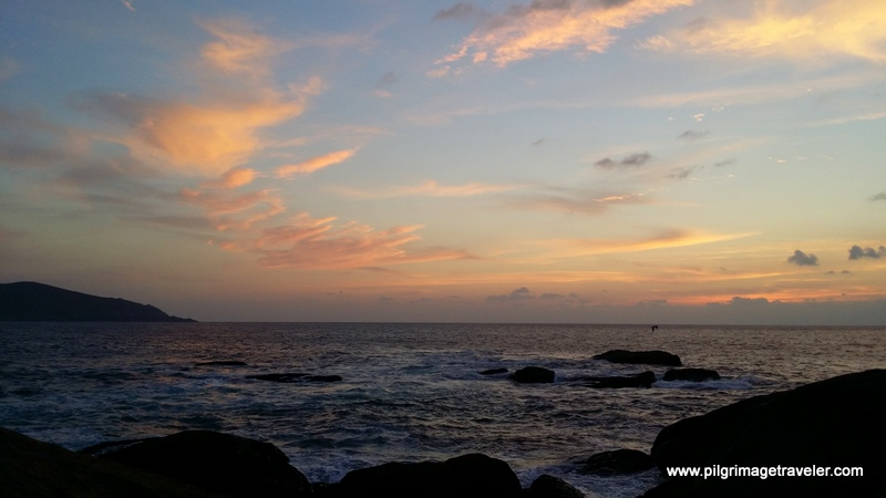 Muxía Costa da Morte Sunset
