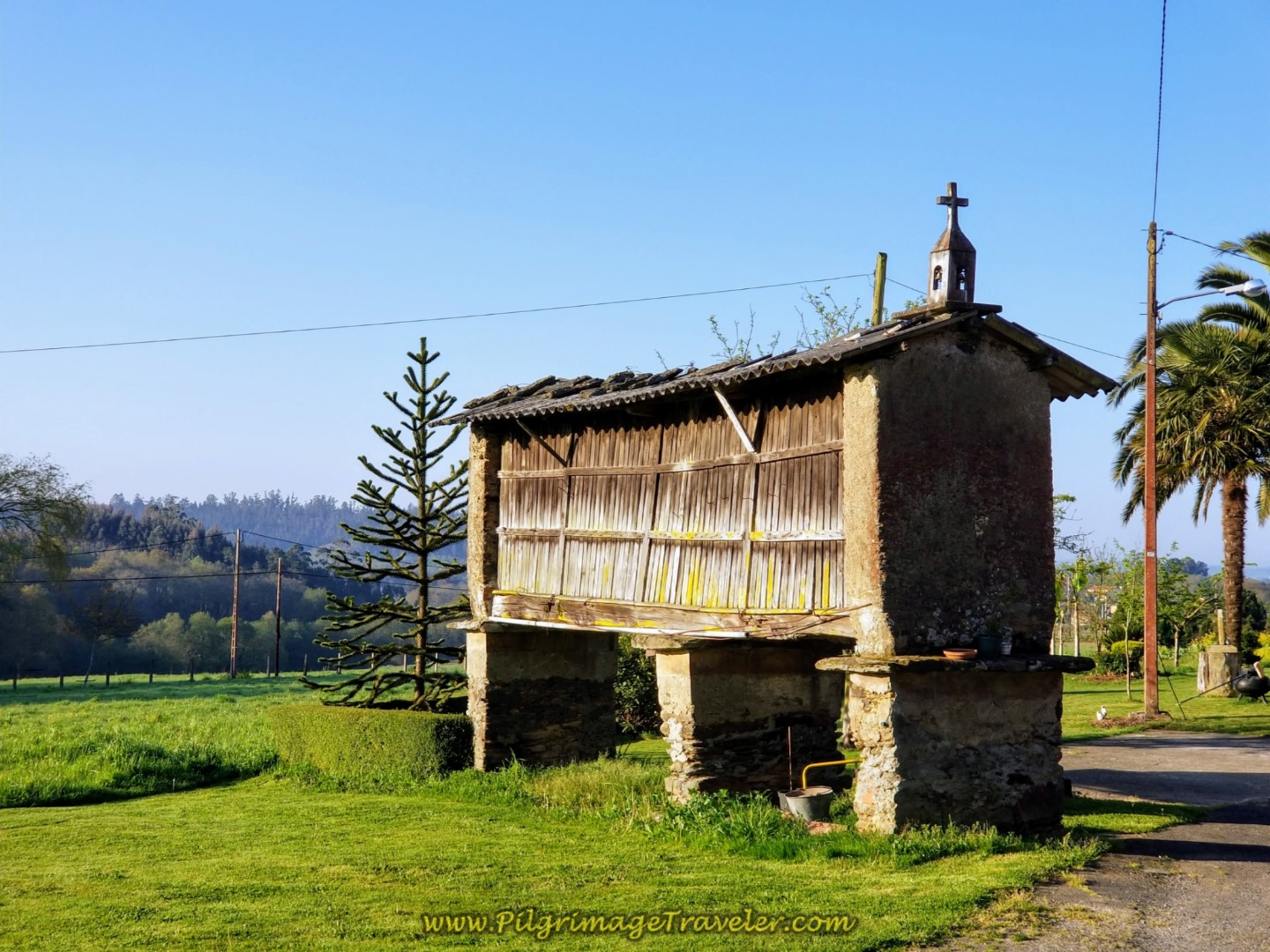 Join Pavement and Pass By This Horreo on day seven of the Camino Inglés