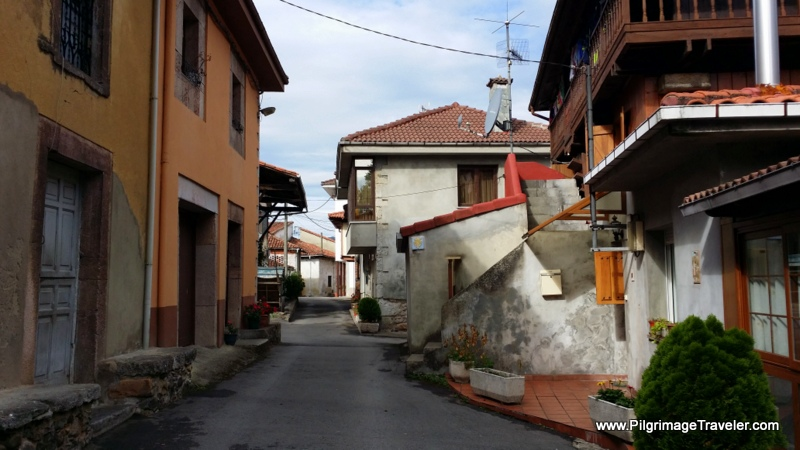 Thru the Town of Peñaflor, Asturias, Spain