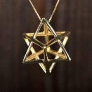 Merkaba Pendant for Protection and Spiritual Awareness