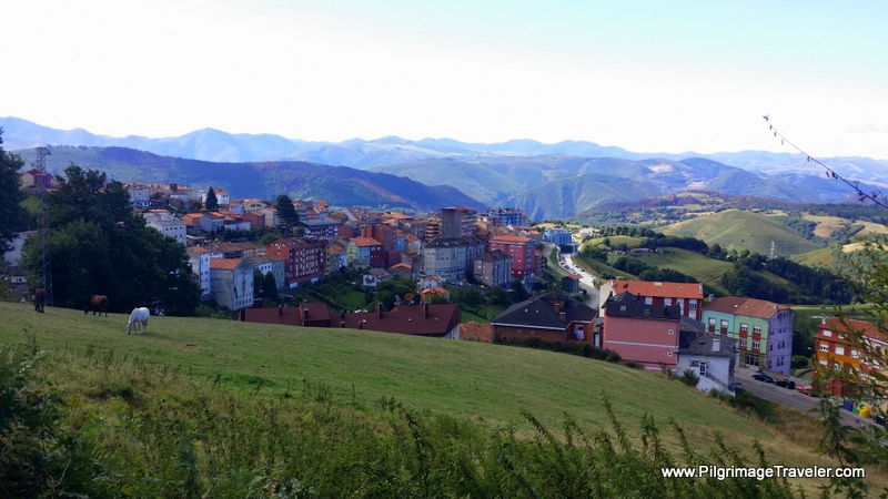 Tineo and the Cantabrian Range, on the Camino Primitivo, Asturias, Spain