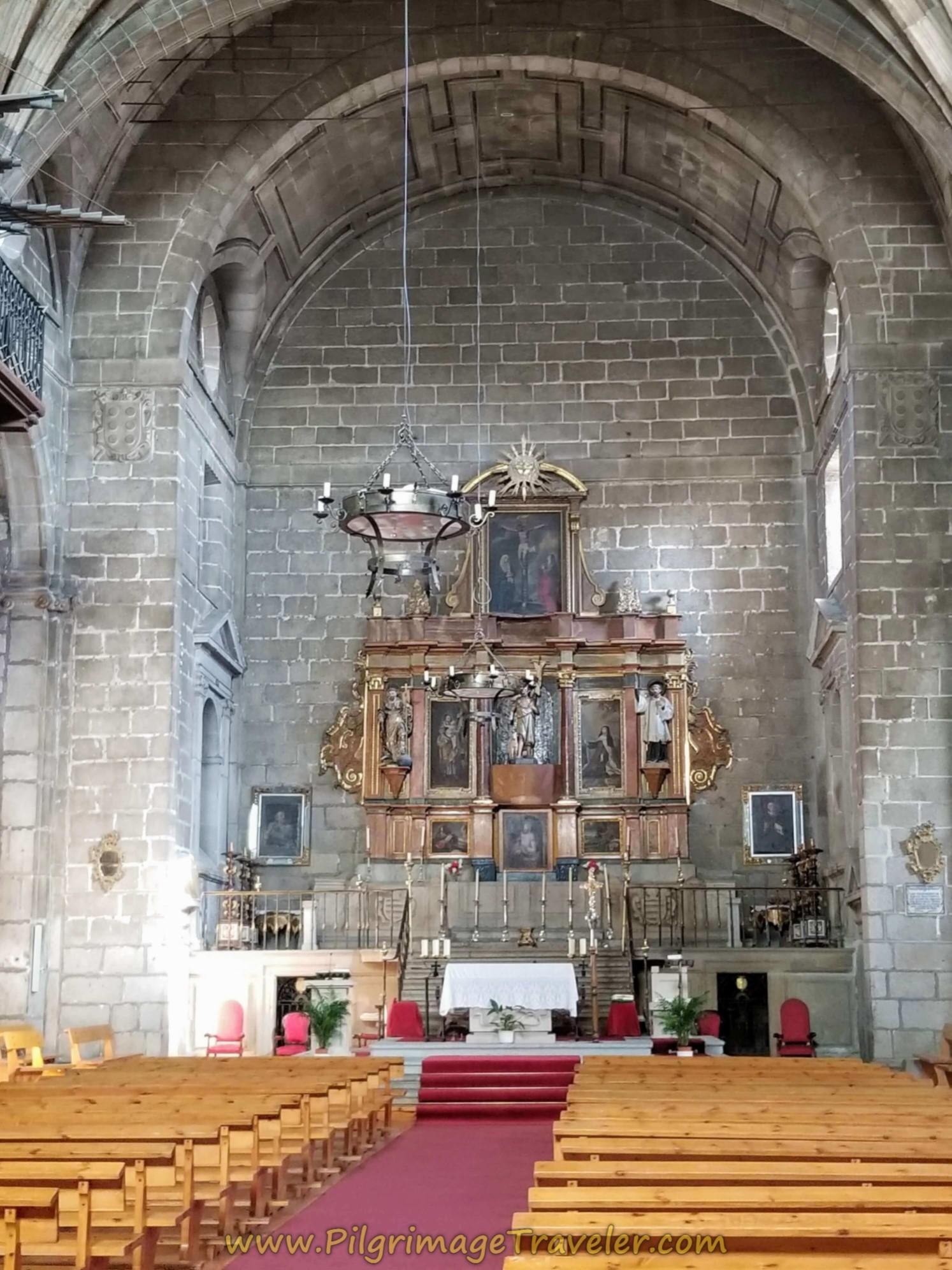 Altar, Iglesia de San Juan Bautista