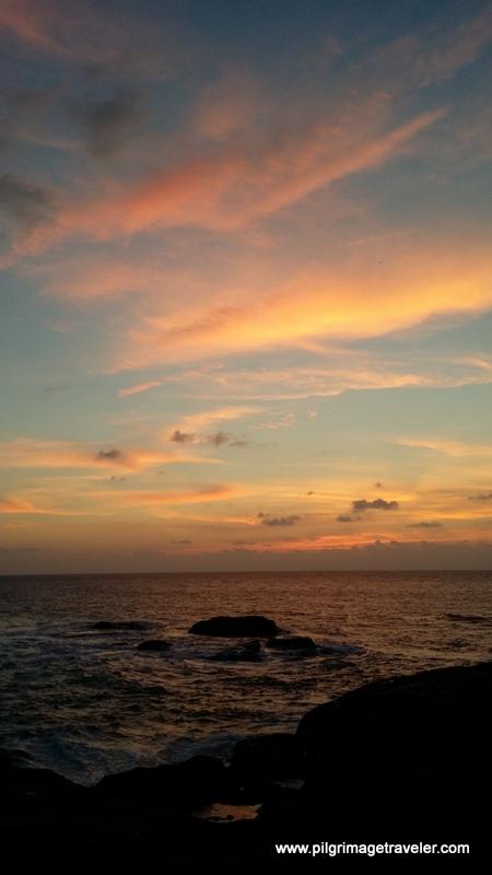 Muxia Spain Sunset