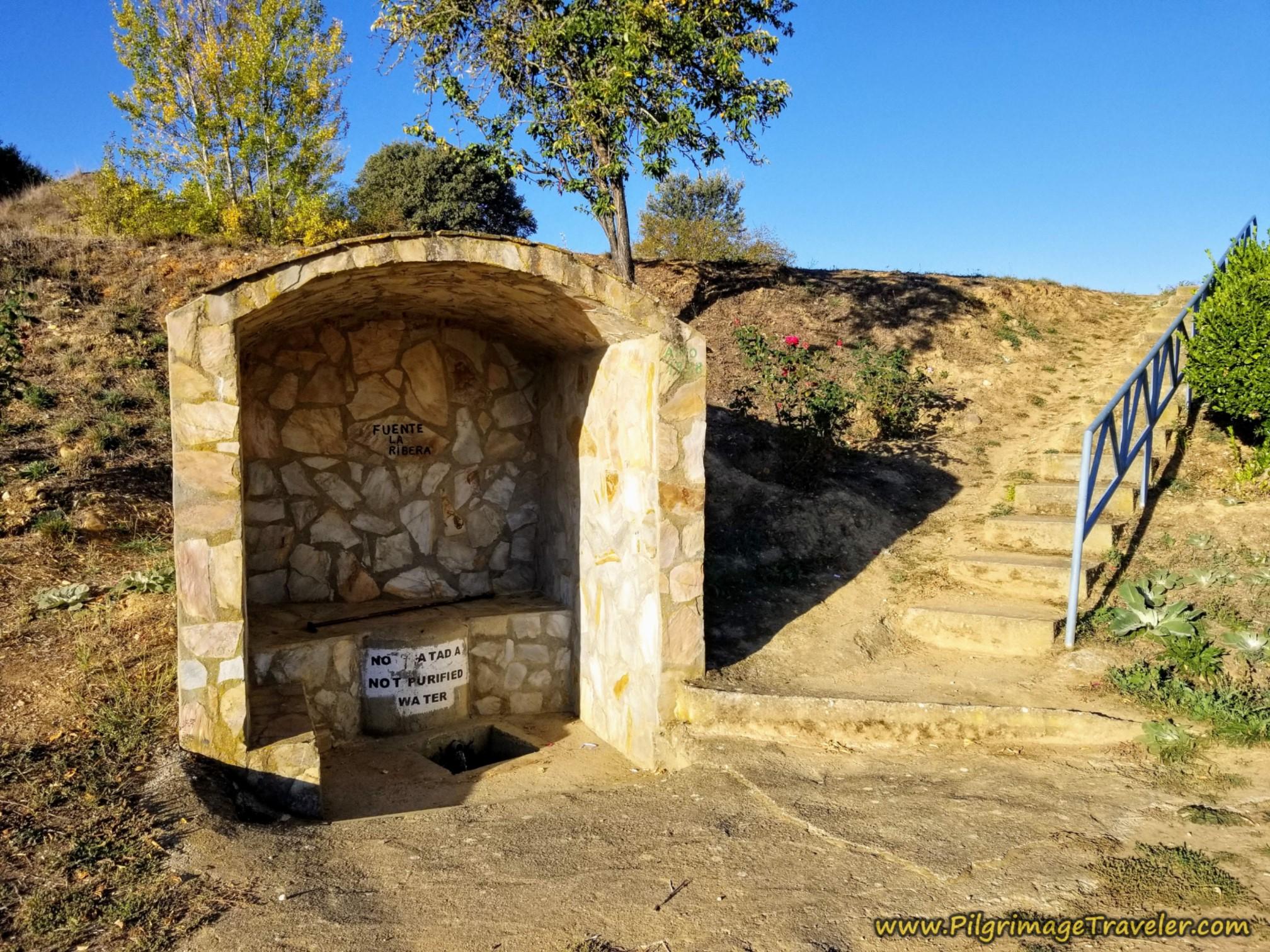 Pass the Fuente de Agua la Ribera