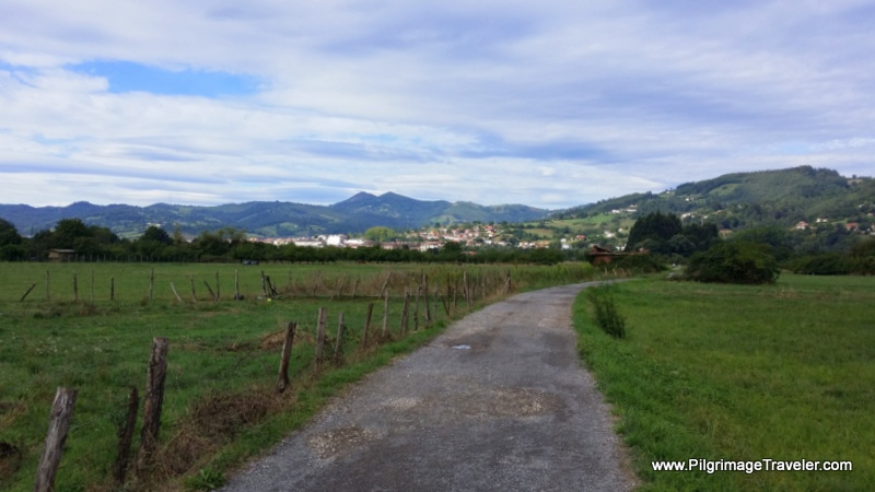 Pilgrimage Lane to Grado, Camino Primitivo, Asturias, Spain