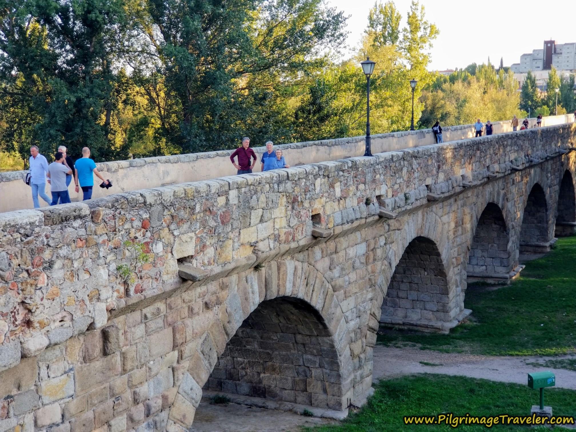 Puente Romano de Salamanca, Spain