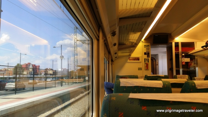 The Renfe Train from Madrid to Oviedo, Spain