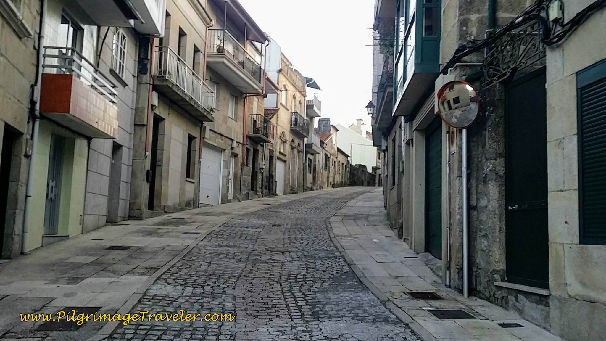 Quiet Streets in Redondela, Early in the Morning, day twenty-two on the Camino Portugués