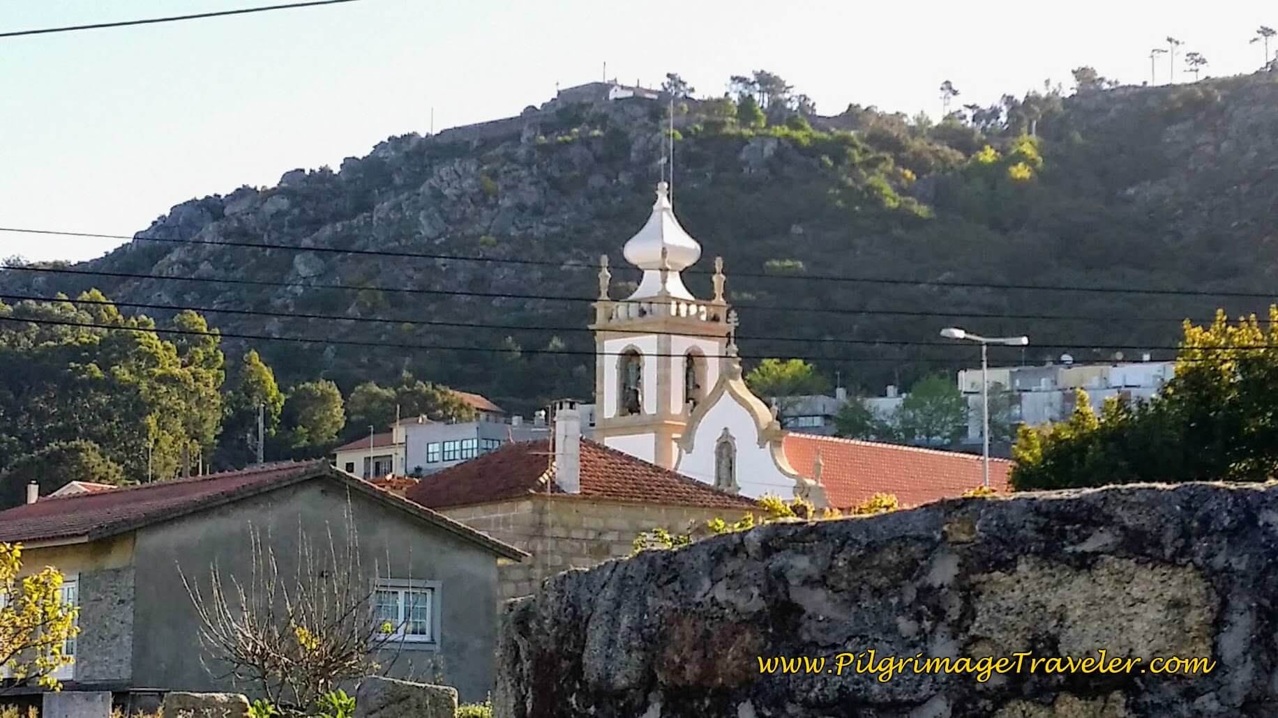 São Pedro Church on day seventeen of the Portuguese Way