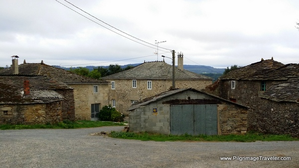 The town of Bacurín, Spain on the 10th stage of the Camino Primitivo