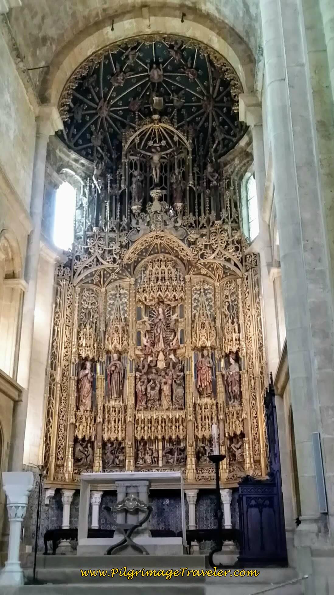 Sé Velha Coimbra, Main Altar