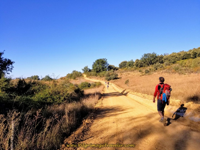 Day One Camino San Salvador ~ León to La Robla, 26.4 Km (16.4 M)