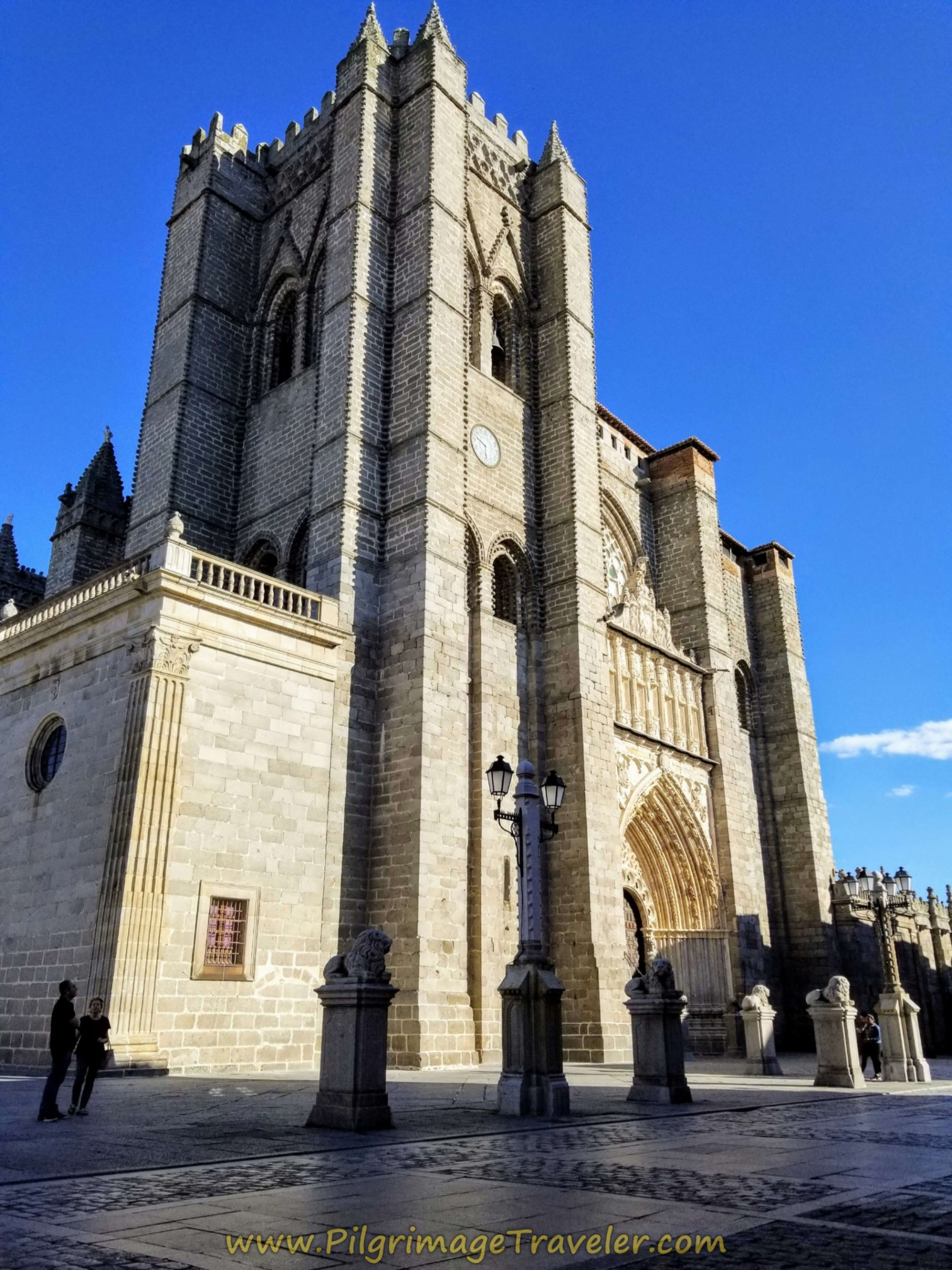 Catedral de Ávila, main entrance