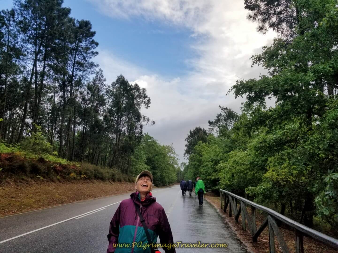 Glyvia Celebrates the Return of the Sun on day twenty on the central route of the Portuguese Camino