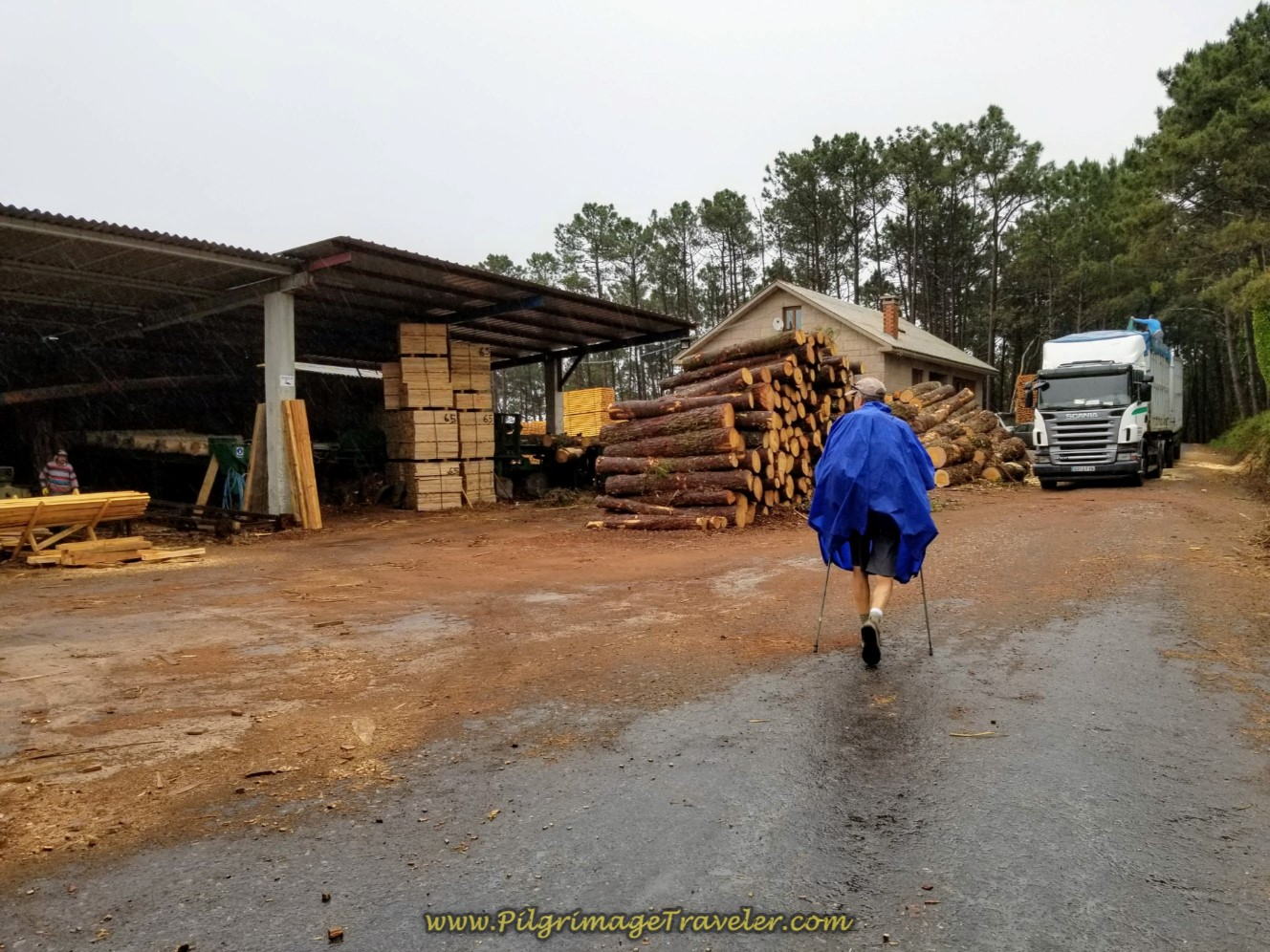 Right Turn at Lumber Mill