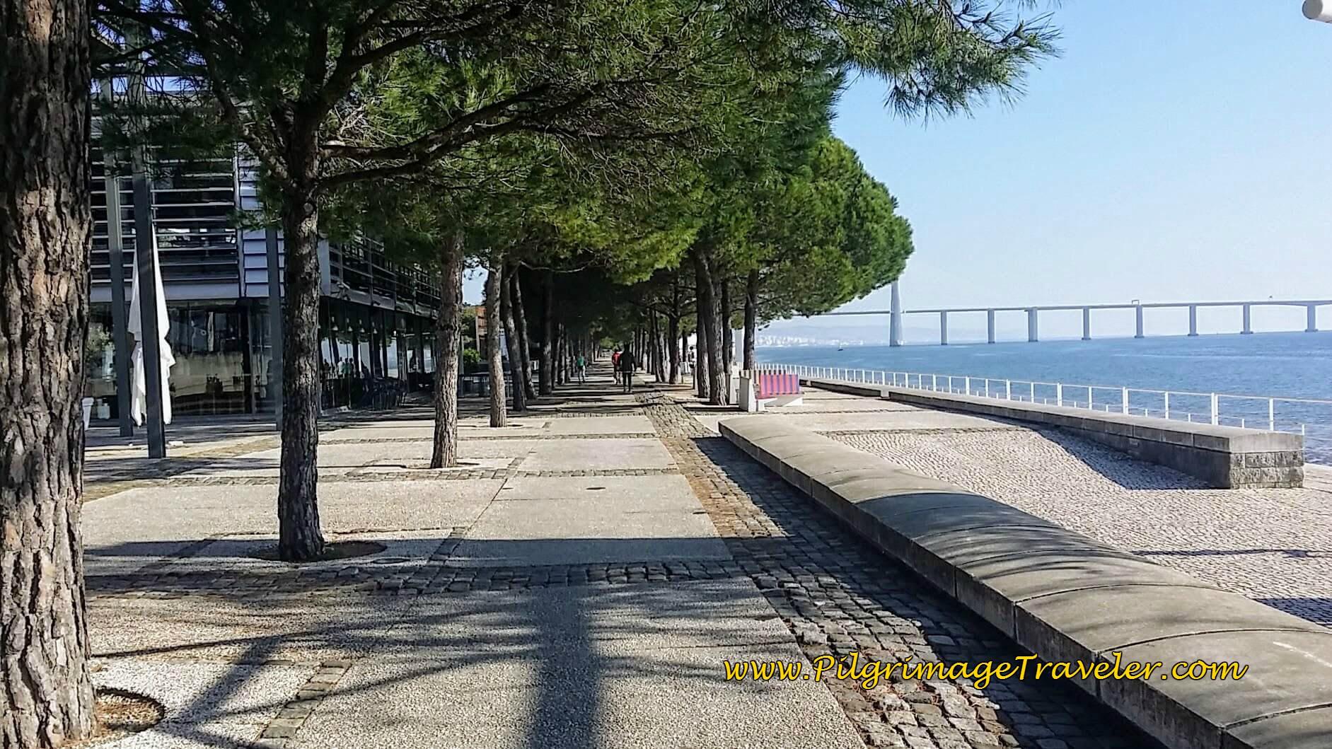 Passeio das Tágides, Park of the Nations, Lisbon