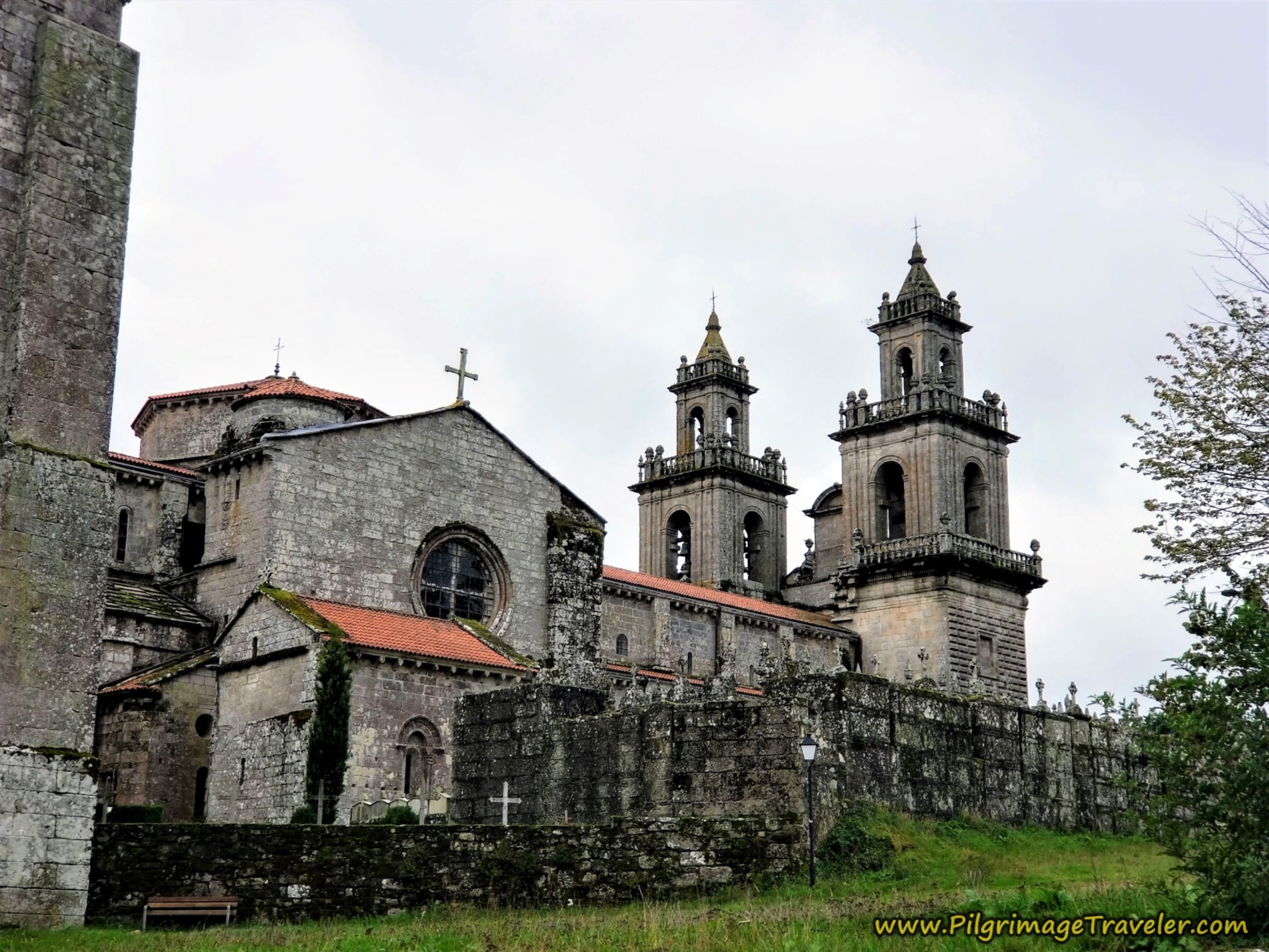 Towers of the Mosteiro de Oseira