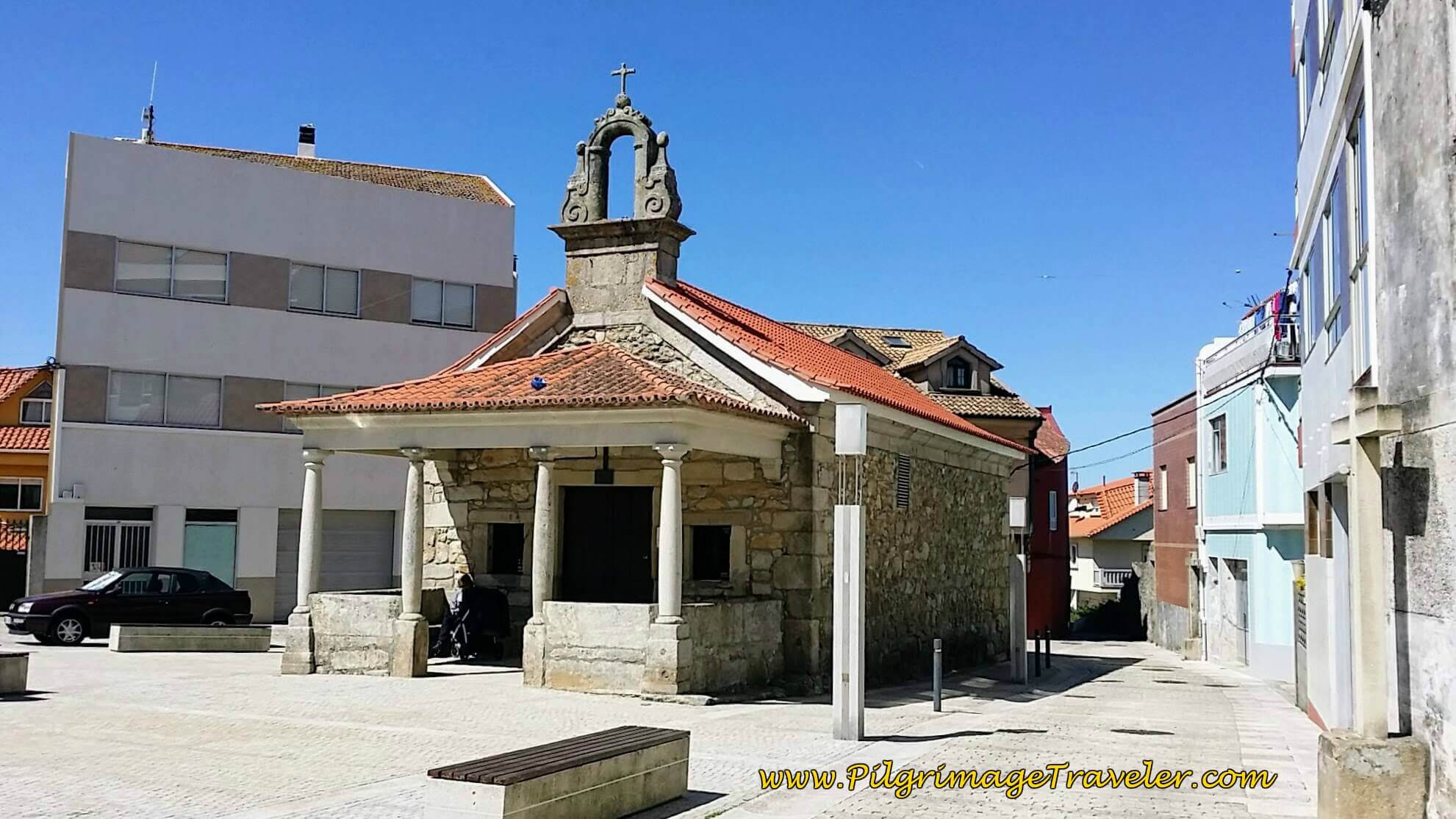 Capilla Virgen De La Guía in A Guarda on Day Nineteen of the Portuguese Way