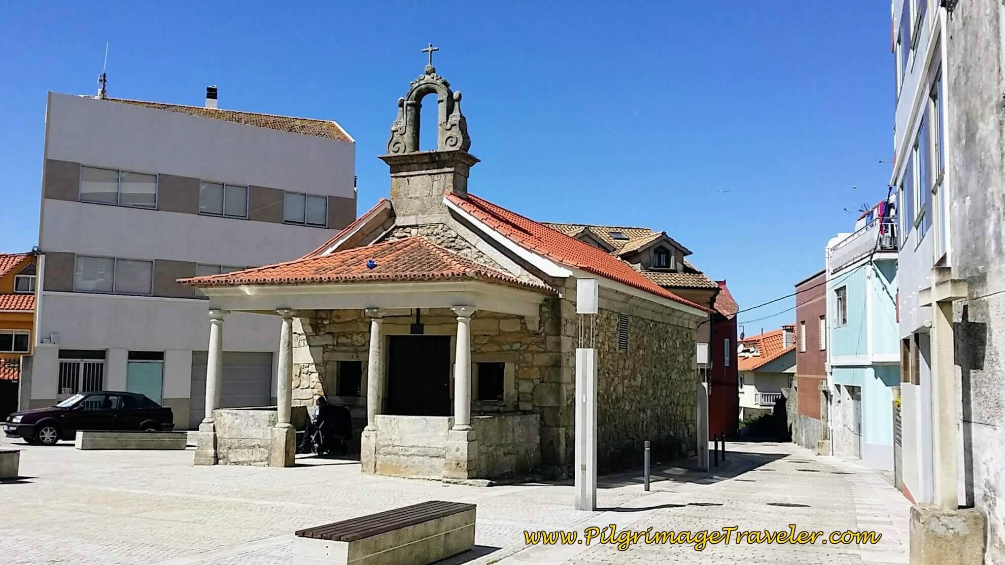 Capilla Virgen De La Guía in A Guarda on Day Nineteen of the Portuguese Way